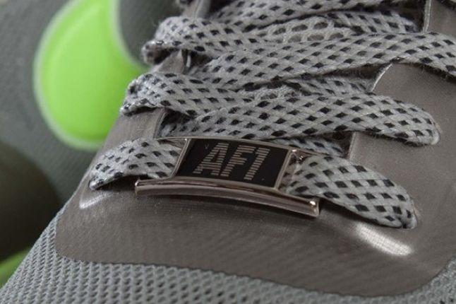 Nike Lunar Force 1 Fuse Granite Volt Laces 1