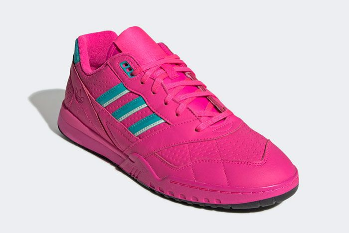 Adidas Ar Trainer Shock Pink Ee5400 Front Angle