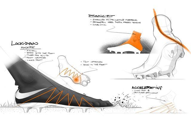 Nike Hypervenom 2 Design Sketches 2
