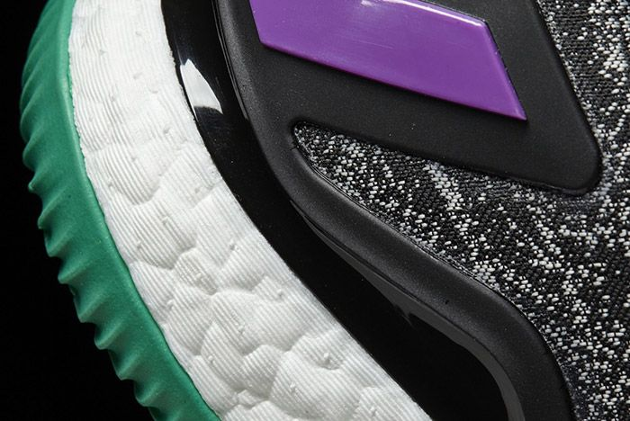Adidas Crazylight Boost Black Shock Purple 1