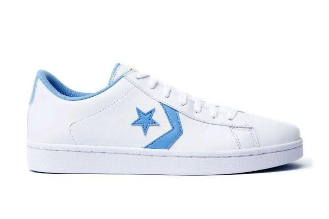 Converse Pro Leather Ox White Bblue Profile 1