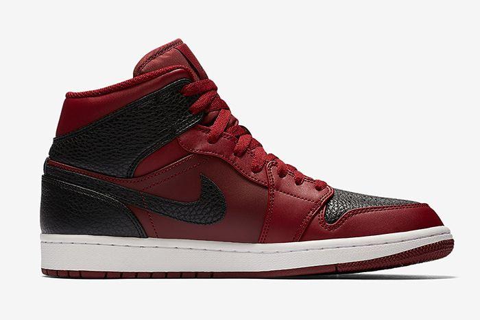 Air Jordan 1 Mid Reverse Bred Sneaker Freaker 2