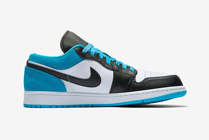 Air Jordan 1 Low Laser Blue Right