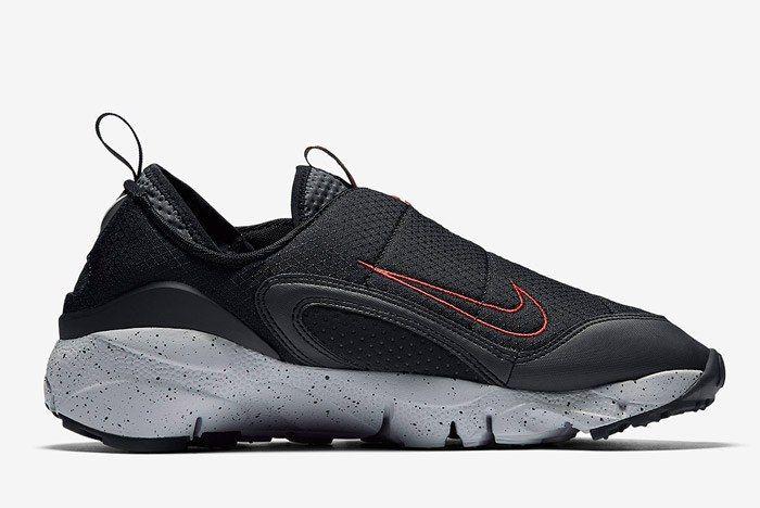 Nike Air Footscape Nm Black Wolf Grey Dark Grey 5