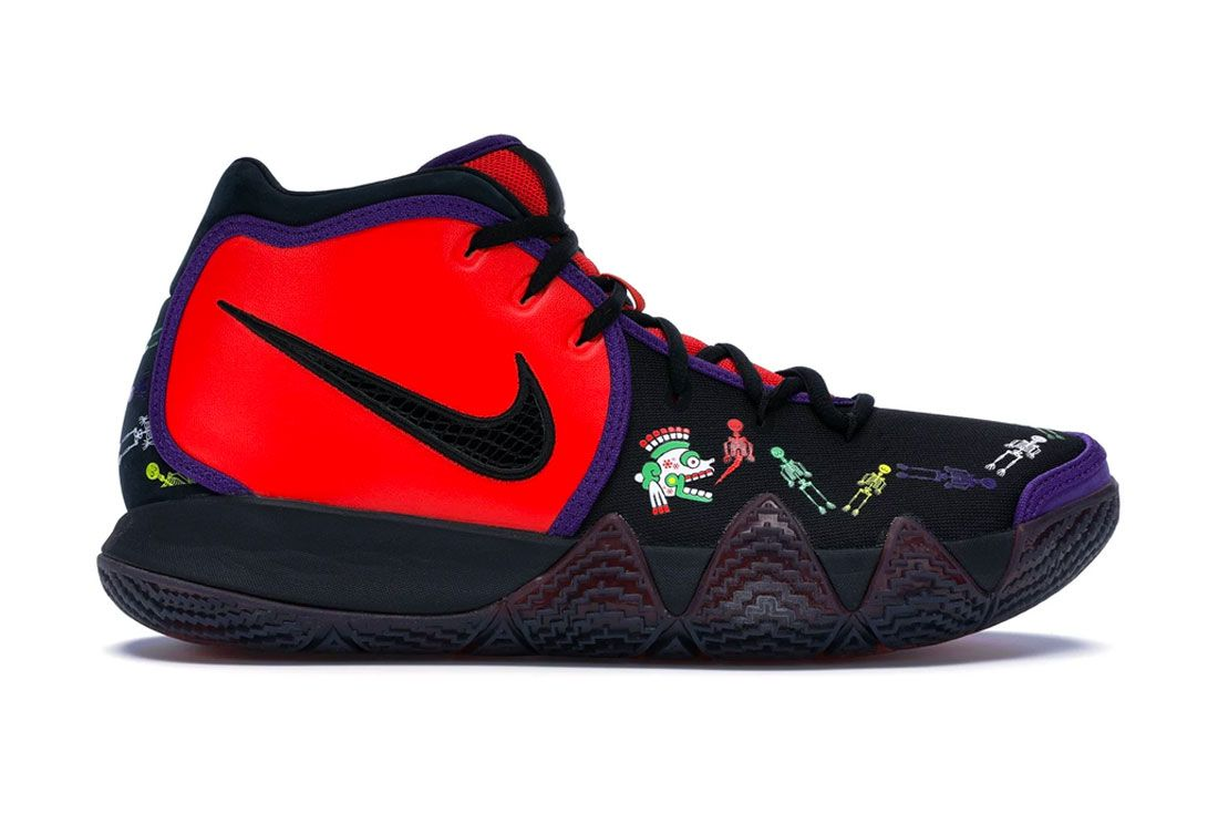 Nike Kyrie 4 'Day of the Dead'