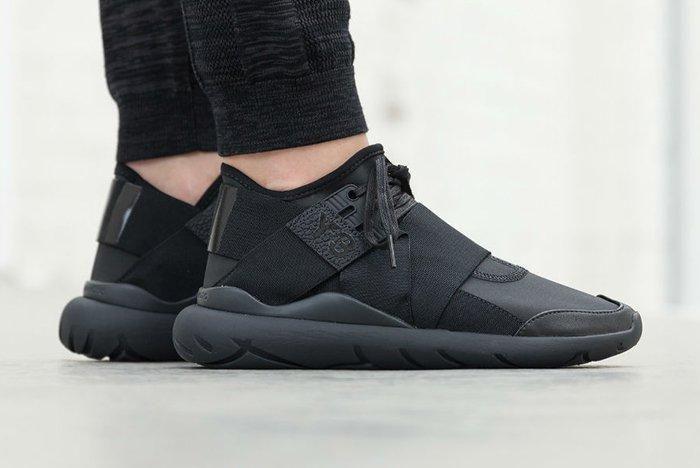 Adidas Y 3 Qasa Elle Lace Black Carbon3