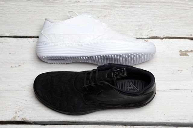 Nike Solarsoft Moc Qs Black White Pack 1