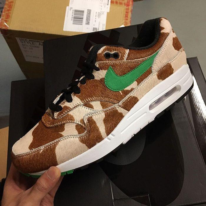 Atmos Nike Air Max 1 Animal 3 Cow