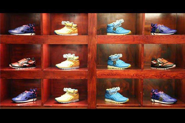 Keith Haring Reebok Bodega Party Sneaker Range 1