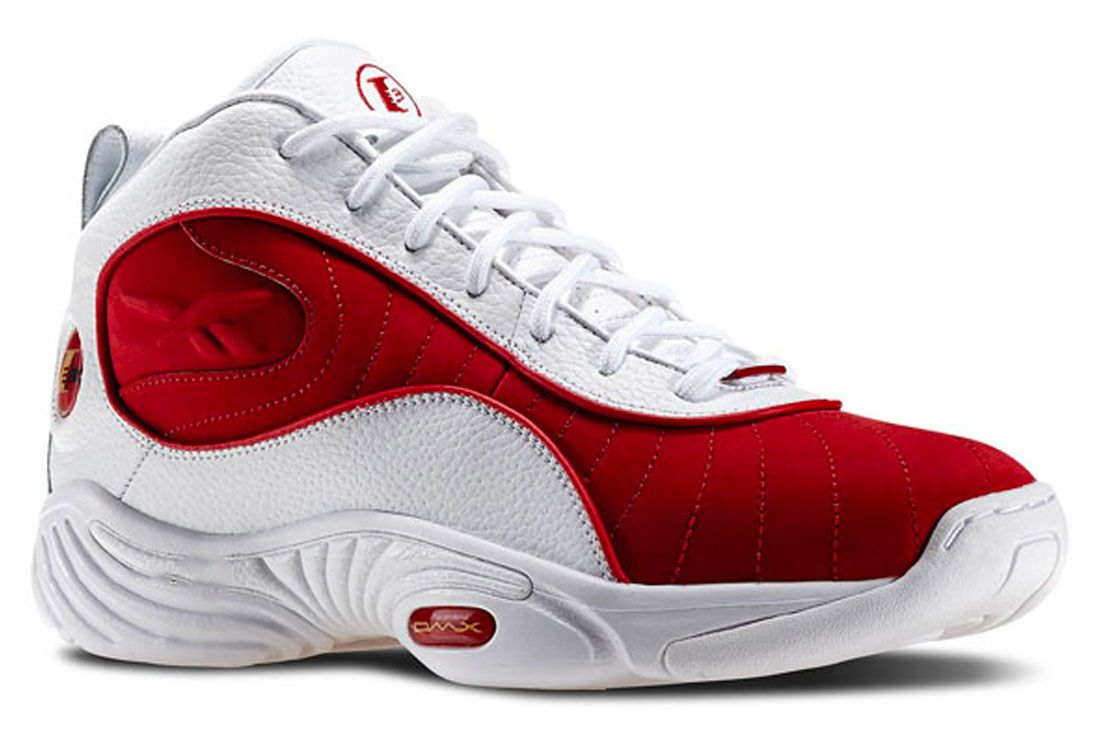 Reebok The Answer 3 Red Right