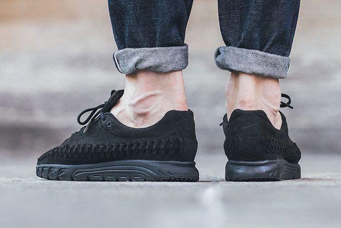 Nike Mayfly Woven Triple Black 2