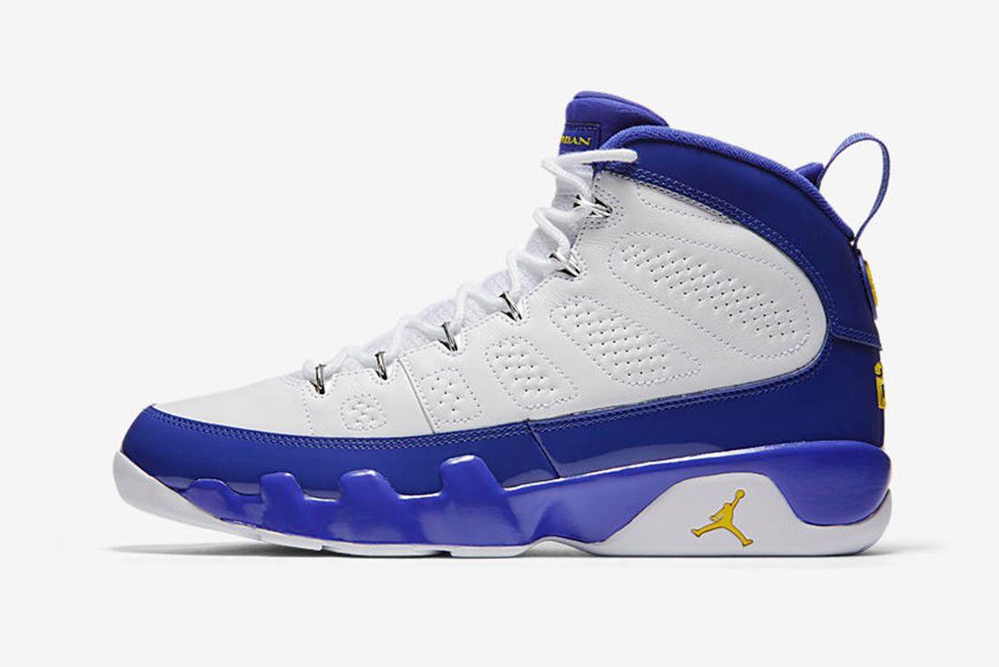 Air Jordan 9 Tour Yellow 1