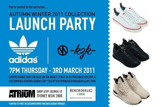 Adidas Kazuki Launch Party Sydney 1