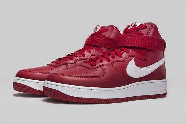 Nike Air Force 1 High Nai Ke Gym Red