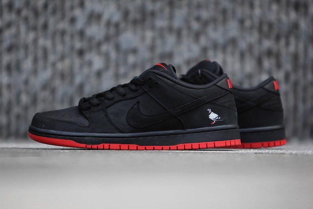 Nike Dunk Low Sb Black Pigeon14