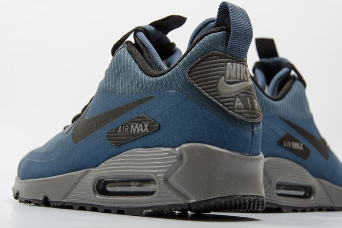 Nike Air Max 90 Mid Winter Squadron Blue 1