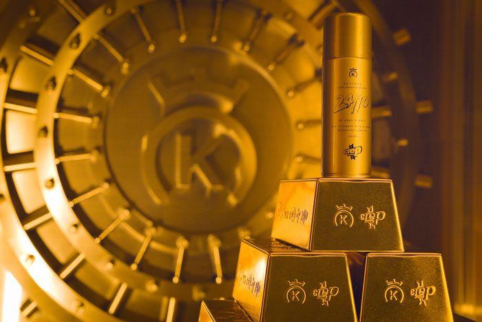 11  Crep Protect X 24 Kilates Gold Bar Collab