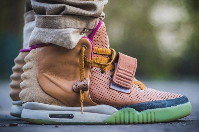 Nike Air Yeezy 2 Custom Maggi