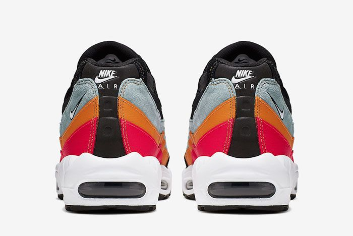 Nike Air Max 95 Black Kumquat Back