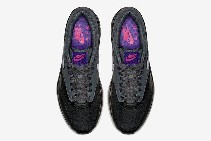 Nike Air Max 1 Black Purple 5