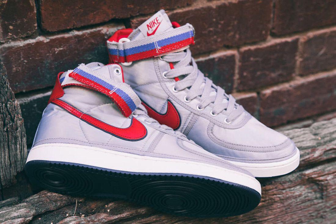 Nike Vandal High Supreme Qs Metallic Silver 9
