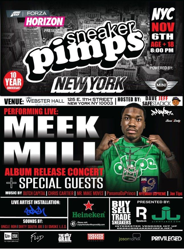Sneaker Pimps Nyc Meek Mill 2
