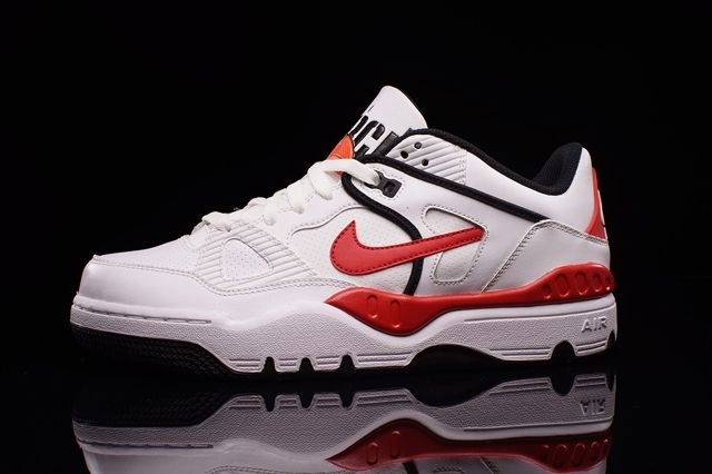 Nike Air Force 3 Low White Varred Bumper 1