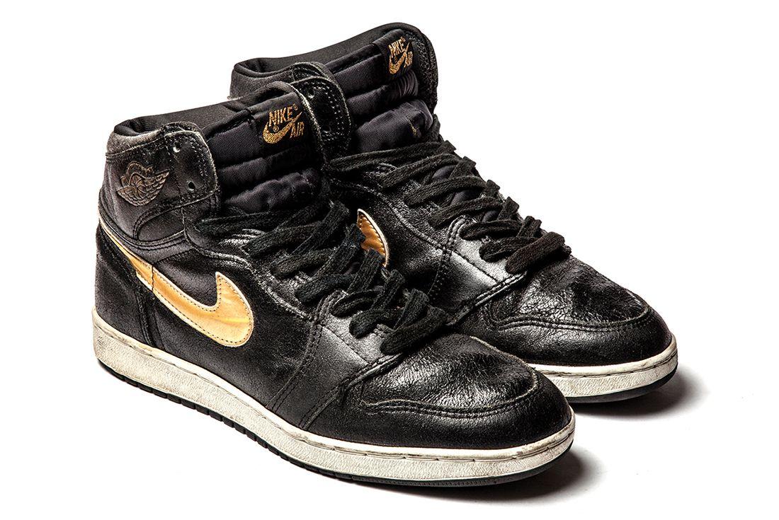 Jordan Black Gold 3