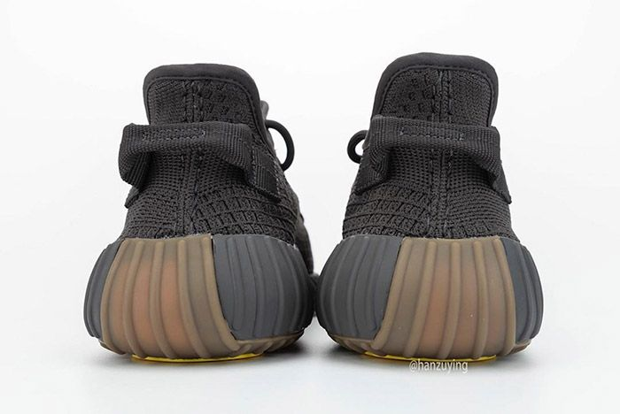 Adidas Yeezy Boost 350 V2 Cinder Fy2903 Heel