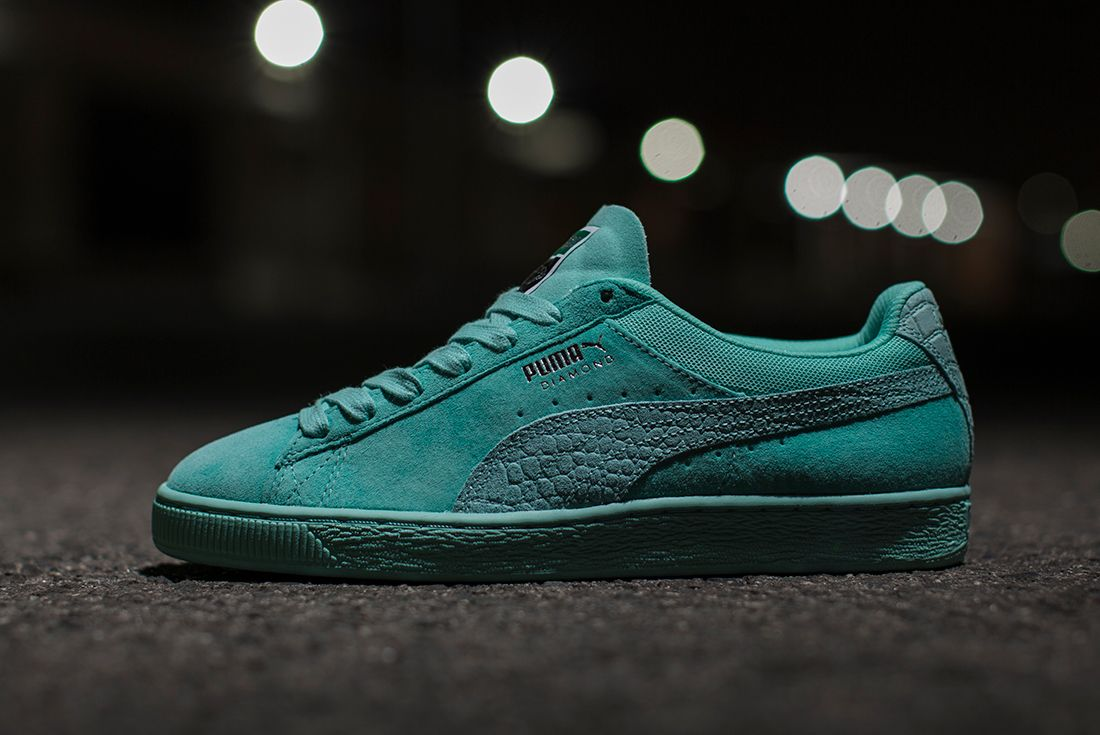 Diamond Supply Co X Puma Classic Suede Collection5