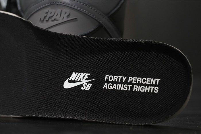 Forty Percent Against Rights Nike Sb Dunk High Inner Sole