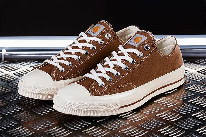 Carhartt Wip Converse Chuck Taylor 70 Brown Three Quarter Lateral Side Shot