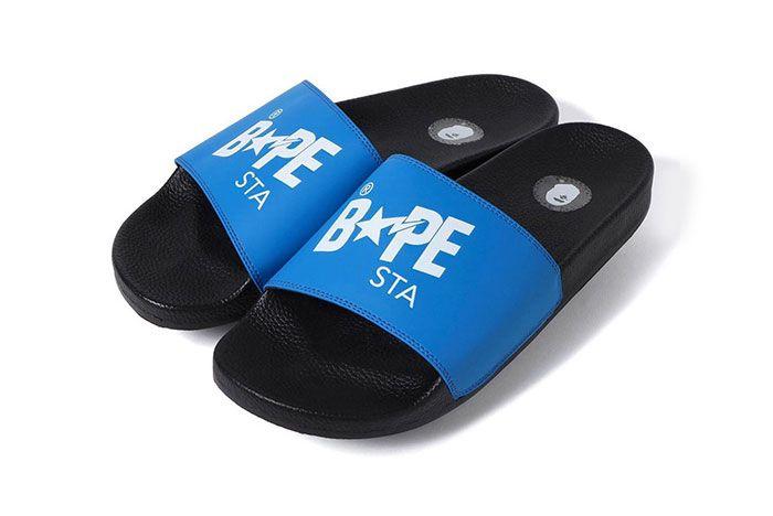 Bape Slide Sandal Sta Blue