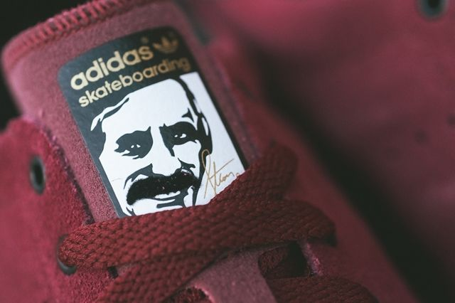 Adidas Stan Smith Vulcanised Burgundy Bumperoo 4