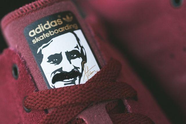 Adidas Stan Smith Vulcanised Burgundy Bumperoo 4