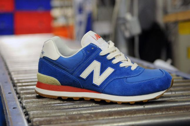 New Balance 574 Pack Size Exclusive Blue 1