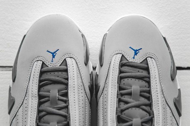 Air Jordan 14 Blue Bumper 4