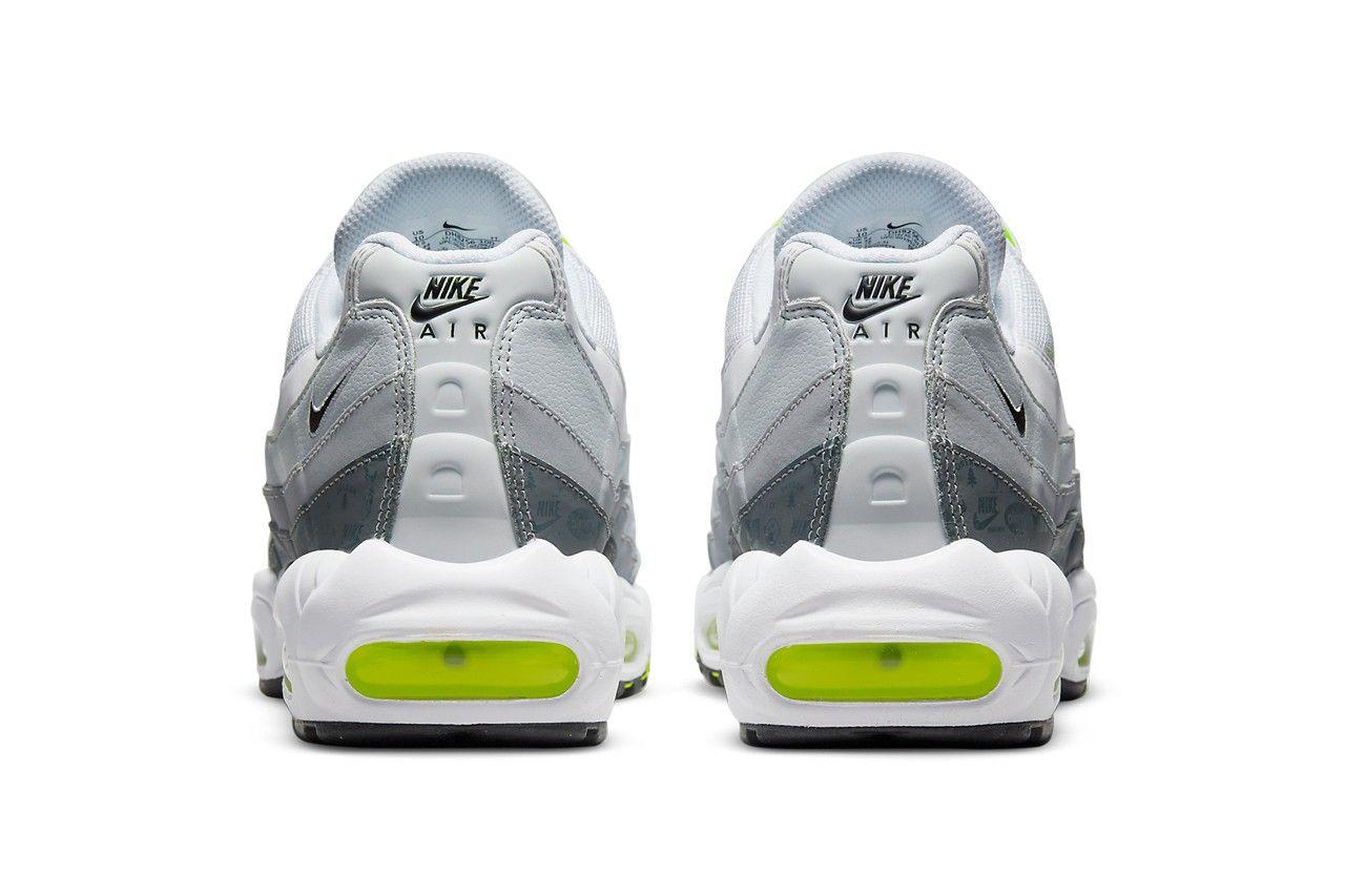 Nike Air Max 95 still Glows in 'Polar Grey'