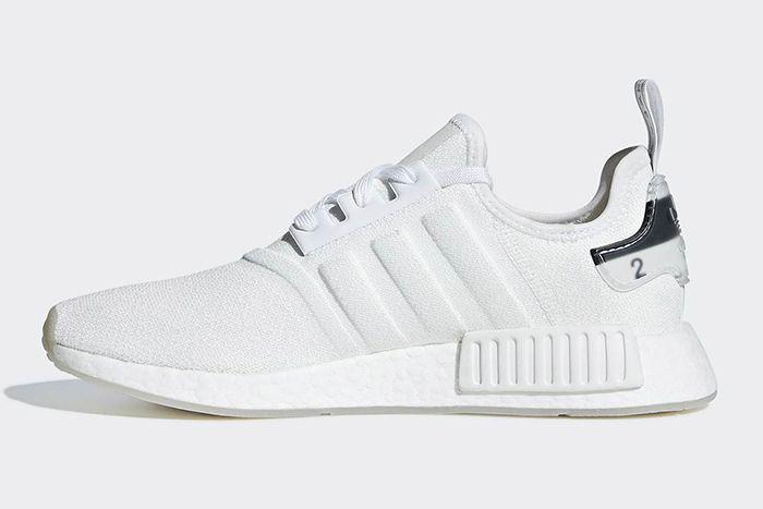 Adidas Nmd R1 White Molded Stripes 2