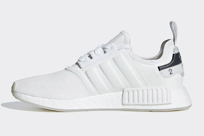 Adidas Nmd R1 White Molded Stripes 2