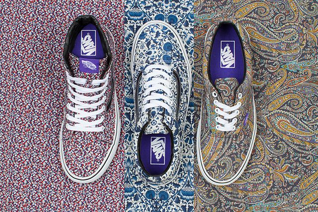 Vans X Liberty Of London Fall 2014 Collection