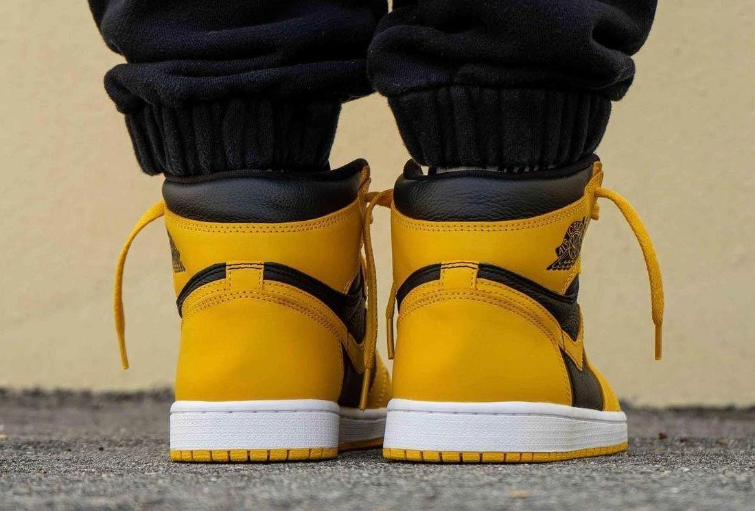 Air Jordan 1 High OG 'Pollen' On-Foot