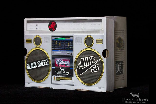 Black Sheep X Nike Sb Dunk High Premium Shoebox6