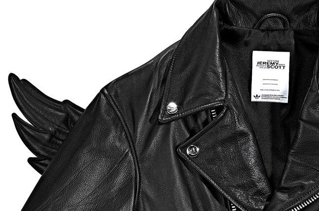 Adidas Jeremy Scott Wings Leather Jacket 3 1