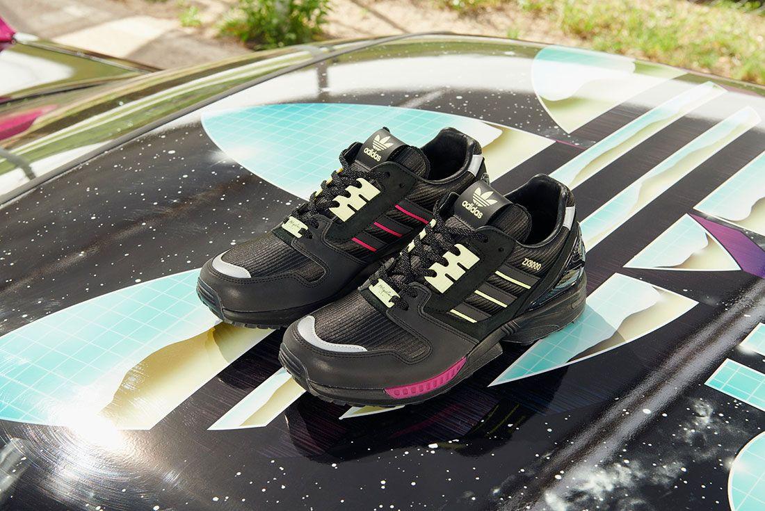 Metropolitan Adidas Zx 8000 Car Boot