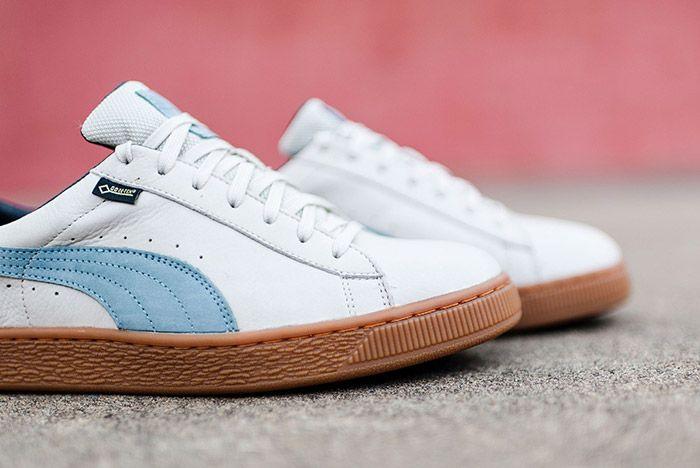 Puma Basket Gpx Gore Tex White Blue Gum 8