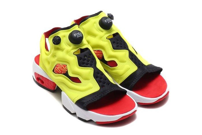 Reebok Instapump Fury Sandal Side Shot 1