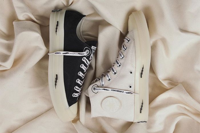 Offpsring Converse Chuck 70 Community Pack Collaboration Black Low White High Release Date Hero