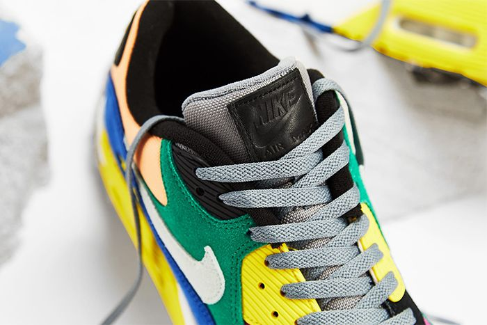 Nike Air Max 90 Qs Viotech 2 0 Cd0917 300 Release Date Tongue