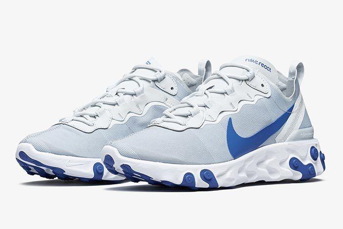 Nike React Element 55 Racer Blue 1